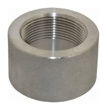 """1/8"""" Stainless Steel Half Coupling"""