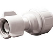 "1/2"" CTS x 1/2"" NPS JG Poly Female Swivel Connector"