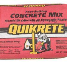 Quikrete Fast Setting Concrete Mix 50lb