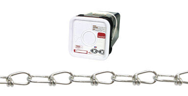 #3 Tenso Double Loop Chain Zinc Plated