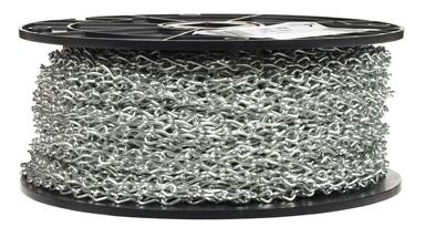 #16 Single Steel Jack Chain Zinc Plated/Blu-Krome Finish