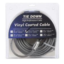 "1/4"" Vinyl Coated Cable 30FT"