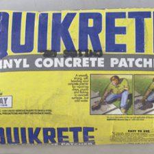 Quikrete Vinyl Concrete Patcher 40lb