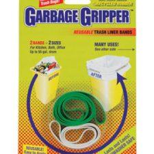 Garbage Gripper Trash Liner Bands 2pk