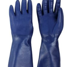Neoprene Coated Knit Lined Bluette Glove Small
