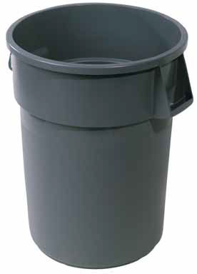 """44 Gallon Rubbermaid """"Brute"""" Commercial Refuse Can"""