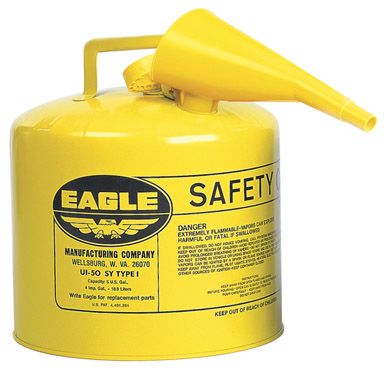 Eagle Metal Type I Safety Diesel Can 5 Gallon