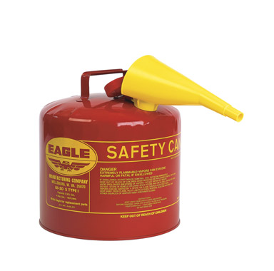 Eagle Metal Type I Safety Gas Can 5 Gallon