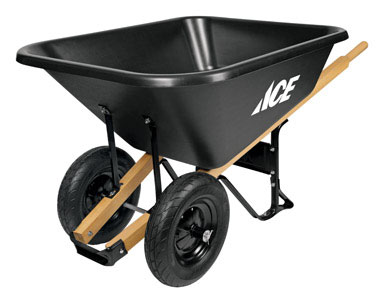 Poly Wheelbarrow 8 cu.ft. capacity