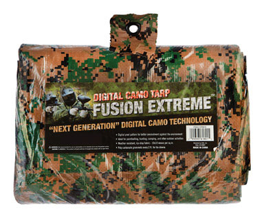 8 x 10 Digital Camo Poly Tarp 5MIL