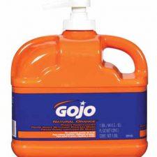 Gojo Natural Orange Formula Hand Cleaner With Pumice 1/2 Gallon w/Pump