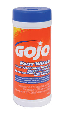 gojo fast wipes hand cleaning towels 25 ct warren pipe and supply