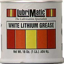 Lubrimatic White Lithium Grease 1 lb.