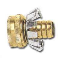 """1/2"""" Clinch Coupler Brass"""