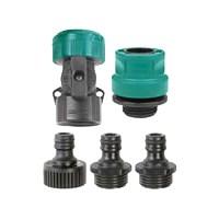 Hose/Faucet Quick Connect Set Poly