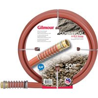 3/4 x 50ft 6-Ply Commercial Hose