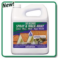 NEW 30 Seconds Spray & Walk Away Concentrate Outdoor Cleaner Gallon(Sprayer #94802450)
