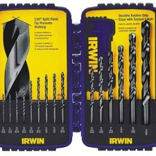 Irwin 15pc Black Oxide Drill Bit Set