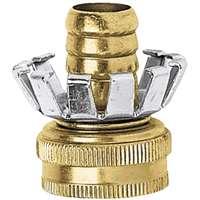 """5/8"""" Clinch Garden Hose coupler Brass"""