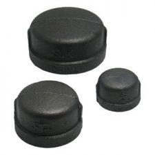 Black Pipe Caps