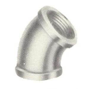 Galvanized Pipe 45 Elbows