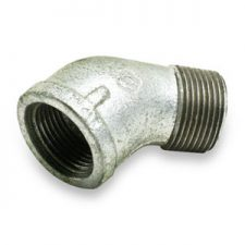 Galvanized Pipe 45 Street Elbows