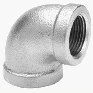 Galvanized Pipe 90 Elbows