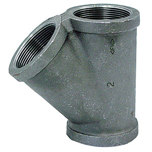 Galvanized Pipe Wyes
