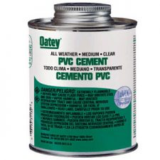 Plastic Cements/Cleaners