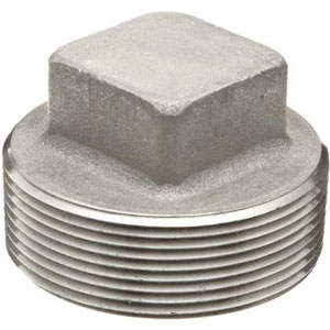 Stainless Steel Square Head Plug