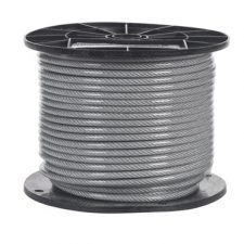 "1/4"" Vinyl Coated Aircraft Cable 7x19"