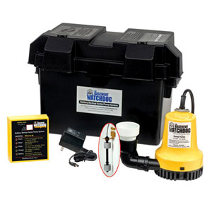 Back-Up Pumps/Batteries/Alarms