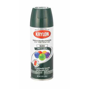 Krylon Spray-Indoor/Outdoor Decorator Enamel
