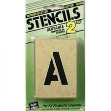 Stencils/Stamps/Ink