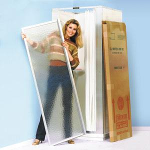 Mustee #85.7 Standard Shower Stall Door