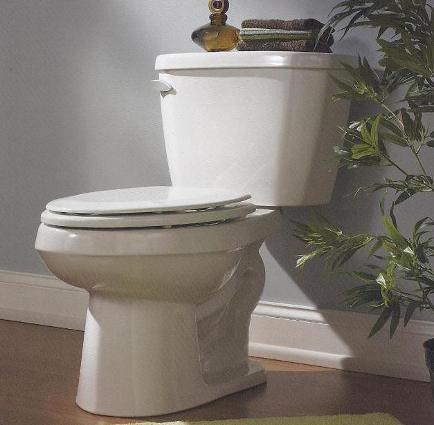 Gerber Viper 17h Elongated Bowl 2pc 16gpf Toilet 10 Rough In