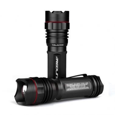 NEBO #5638 SE Redline LED 250 Lumens Flashlite Black