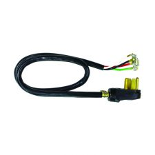 Dryer Cord 4-Wire 10 Gauge/4 Plug SRDT 4ft Black