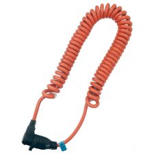 Coiled Extension Tool Cord 3ft to 10ft Orange