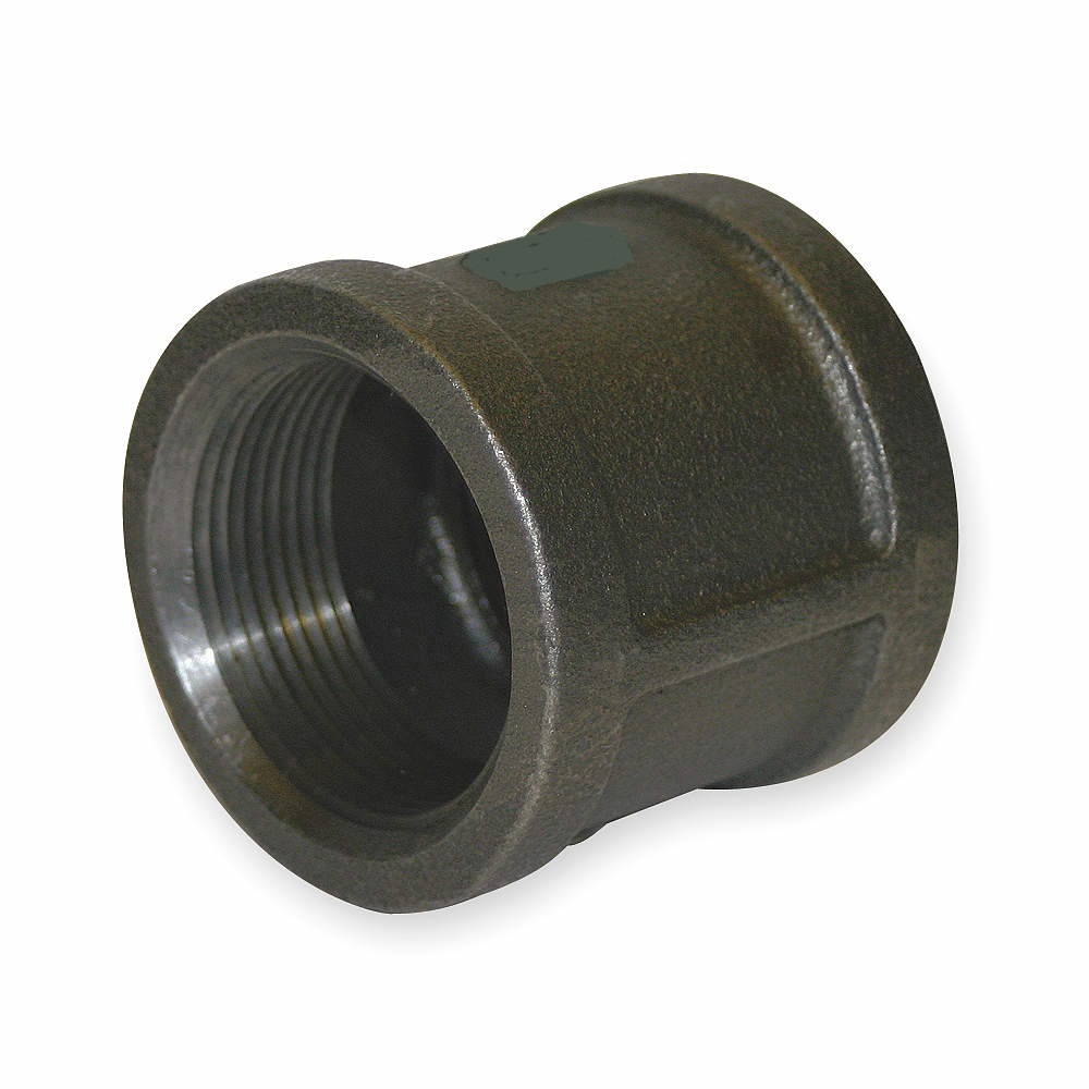 2 Black Malleable Iron Coupling Warren Pipe And Supply