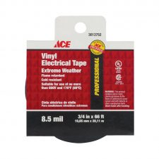 "3/4"" x 66 ft. Vinyl Electrical Tape Black"