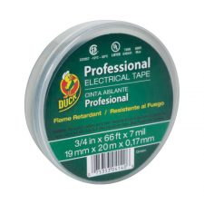 "Duck 3/4"" x 66 ft. Vinyl Electrical Tape Green"