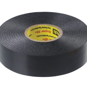 "Scotch 3/4"" x 66 ft. Vinyl Electrical Tape Black Super 33+"