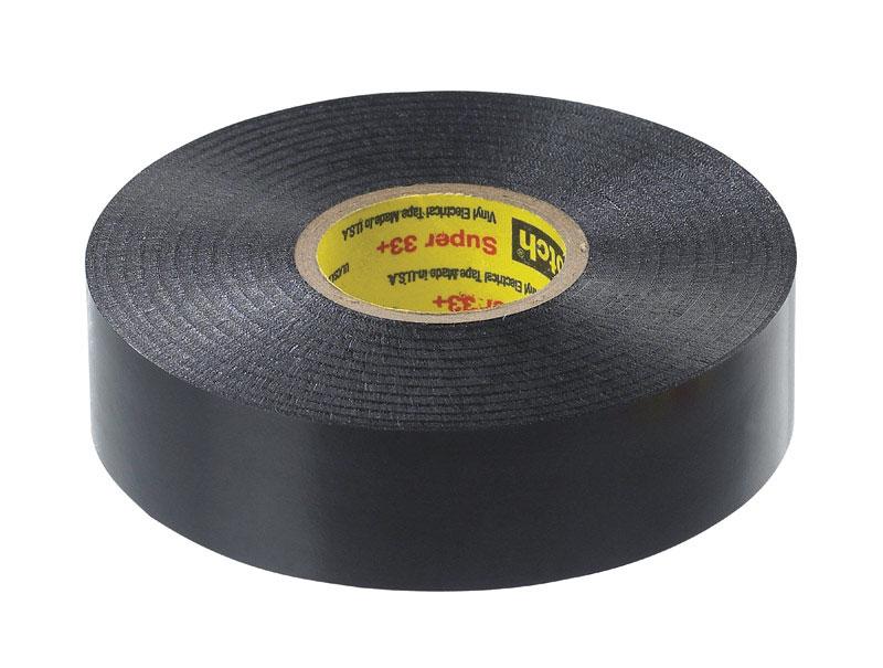 "Scotch 3/4"" x 66 ft. Vinyl Electrical Tape Black Super 33+"