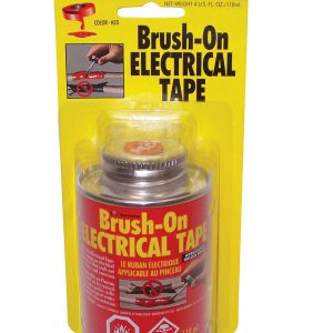 Blue Magic Liquid Brush-On Electrical Tape Red 4oz