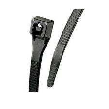 "6"" GB UV Black Standard Double Lock Cable Tie 100pk 46-206UVB"