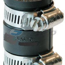 "1"" x 1"" CI/Plastic Fernco Flexible Coupling 1056-99"