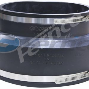 "10"" x 8"" CI/Plastic Fernco Flexible Coupling 1056-10-7"