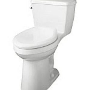 Compact Comfort Height Elongated Bowl Toilets