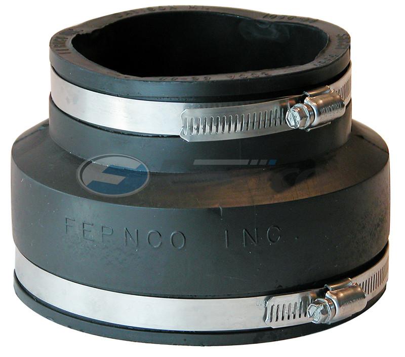 "5"" x 4"" CI/Plastic Fernco Flexible Coupling 1056-53"
